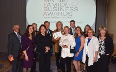 Woodlands Senior Living Named Large Business of the Year at 2018 Maine Family Business Awards